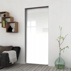 Drzwi Przesuwne 95 Płyta Białe Kaseta