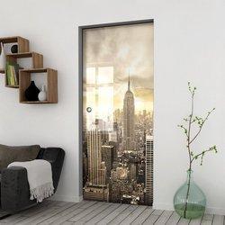 Drzwi Szklane Przesuwne 100 GR-H09 KASETA