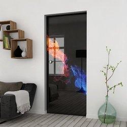Drzwi Szklane Przesuwne 85 GR-H31 KASETA