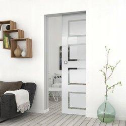 Drzwi Szklane Przesuwne 95 GEO12 KASETA