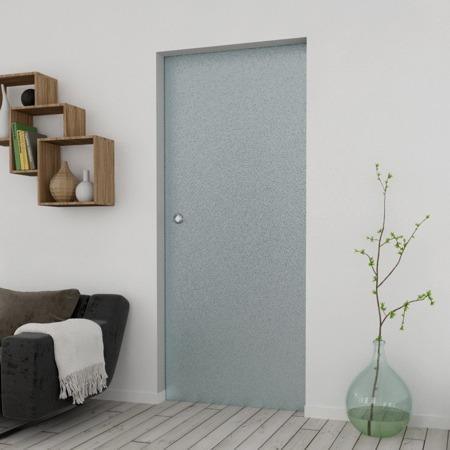 Drzwi Szklane Przesuwne 950X2095 8MM ESG MILENIUM + KASETA